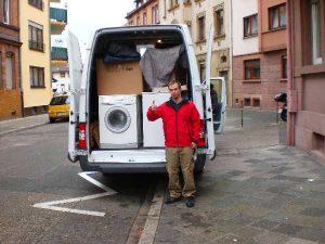 Umzugshilfe, Umzugshelfer, Be- und Entladehilfe und Umzüge in Heilbronn