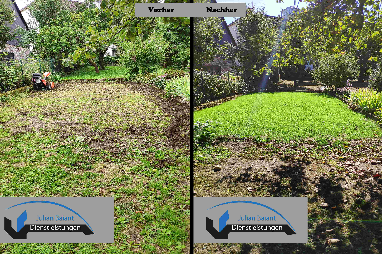 Rasen komplett erneuern